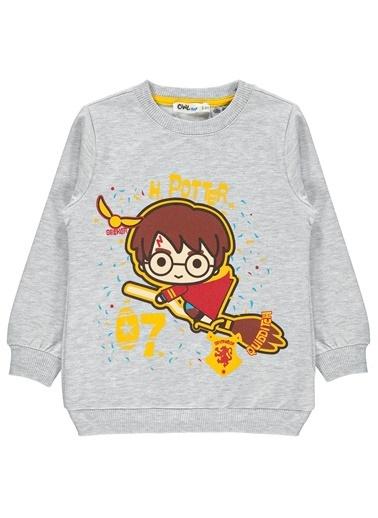 Harry Potter Erkek Çocuk Sweatshirt  Gri